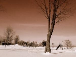 Outros/neve no parque
