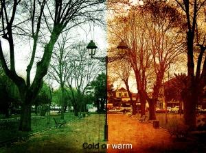 Arte Digital/O candeeiro do antes e do depois