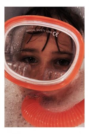 /plongeur en eau douce