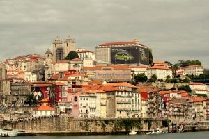 Paisagem Urbana/Porto - Dia 1 do Red Bull Air Race