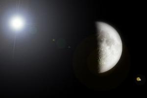 /Fases da Lua : Quarto crescente #2