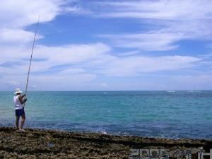 /pescaria na praia
