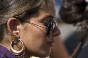 Gentes e Locais/Rosto de uma mulher bonita
