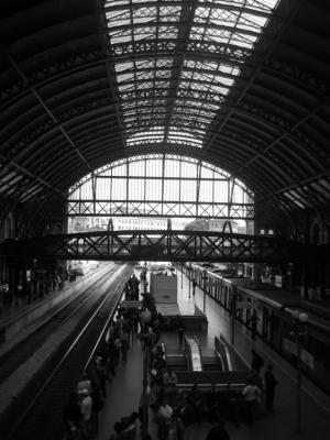 Paisagem Urbana/Estação da Luz, SP