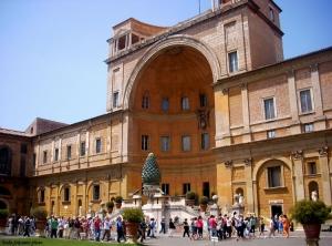 Paisagem Urbana/Museu do Vaticano