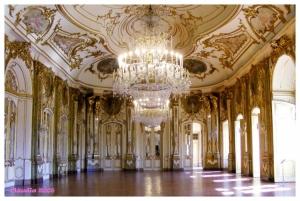 /Magnifica Sala do Trono I Palácio de Queluz