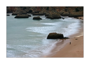 Paisagem Natural/Quando o Mar vem dar à Praia