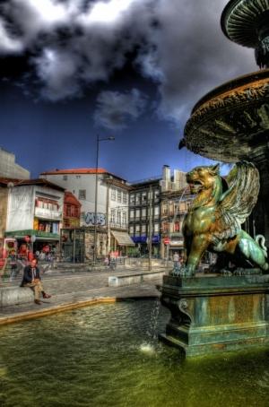 Paisagem Urbana/Praça dos Leões - Porto