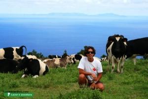 Retratos/EU... e as vacas!!