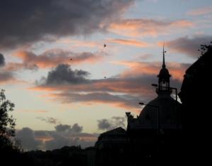 Paisagem Urbana/Nas nuvens