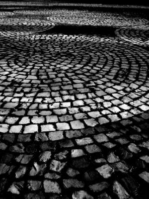 Abstrato/Pedras da calçada