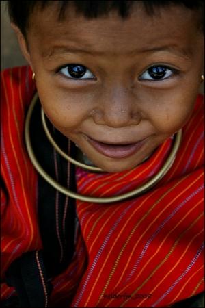 Retratos/tribo kayan