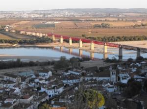 Outros/Old Bridge over Tagus River, Santarém