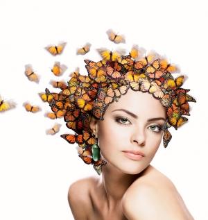 Moda/Butterflies & Stefani