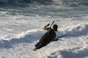 Desporto e Ação/Levado pelo ar...