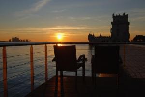 Paisagem Urbana/Por-do-sol em Belém