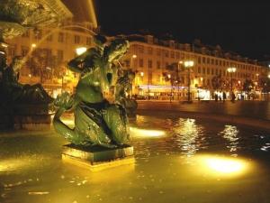 Paisagem Urbana/Lisboa à noite...