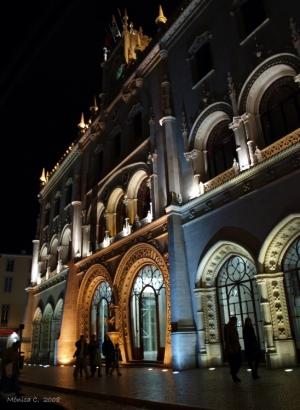 Paisagem Urbana/Cidade à noite II