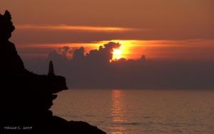 Paisagem Natural/Observando o pôr do Sol