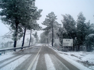 Outros/neve na serra do Moradal . I