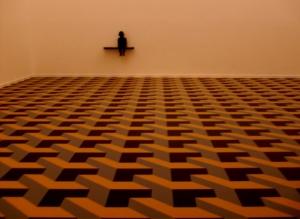 Abstrato/Solidão ou simples ilusão de óptica?