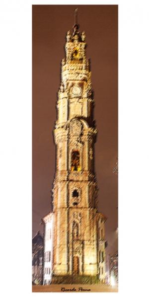 Gentes e Locais/Torre dos Clérigos em retrato