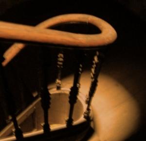 /escuro nas escadas (anseio)