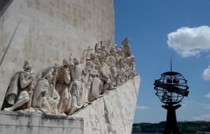 História/Monumento dos descobrimentos em Lisboa