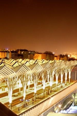 Paisagem Urbana/Estação do Oriente - Lisboa
