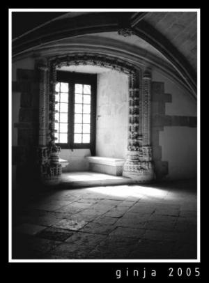 /Luz sobre o convento de Cristo - Tomar