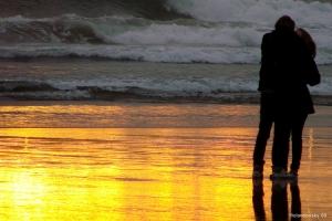Gentes e Locais/Beijo ao pôr-do-sol