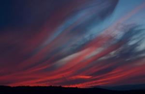 Paisagem Natural/nuvens de fogo