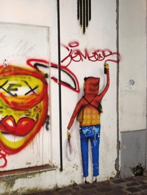 Paisagem Urbana/Grafitando, 7 meses depois