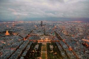 Paisagem Urbana/Paris vista da Torre Eiffel