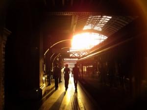 Paisagem Urbana/Estação da Luz / São Paulo_Brasil