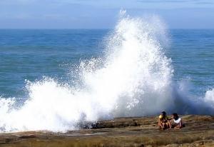Fotojornalismo/Com o mar não se brinca