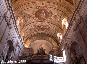 História/Interior da Igreja-Basílica de Santa Quitéria