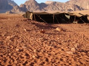 Outros/nómada em Wadi Rum