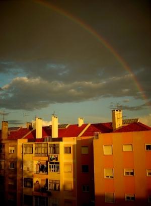 Paisagem Urbana/Depois da tempestade..