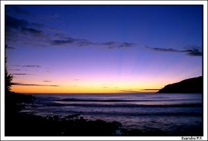 /O sol antes do sol!
