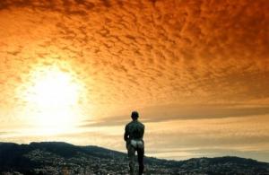 /O homem à procura do sol