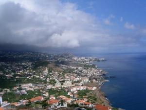 /Cidade de Câmara de lobos na Madeira