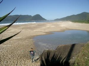 /Praia do Caldeirão!