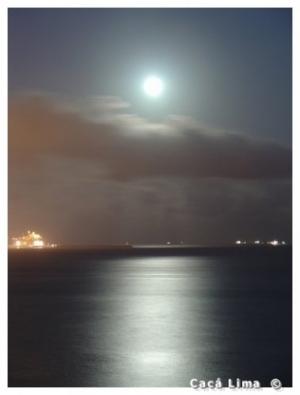 /Lua e o Atlantico em Vitória ES