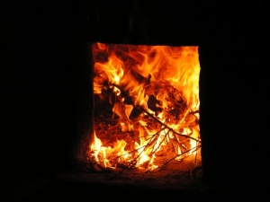 Abstrato/A origem do fogo...