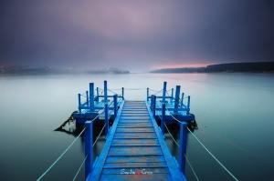 Paisagem Natural/Foggy Sunrise