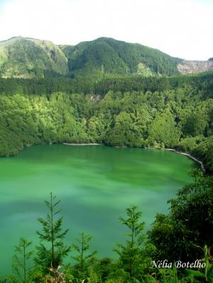Paisagem Natural/Lagoa de Santiago, São Miguel, Açores