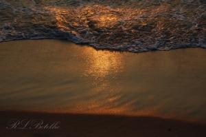 Paisagem Natural/Reflexo do pôr-do-sol
