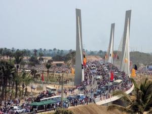 Fotojornalismo/Inauguração Ponte Catumbela