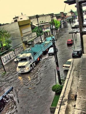 Paisagem Urbana/despuès de la tormenta.....